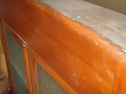 Credenza Con Alzata In Vetro : Restauro e restyling di liana nardo credenza con