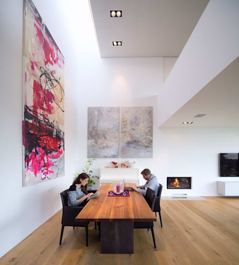 modern Dining room by Schiller Architektur BDA