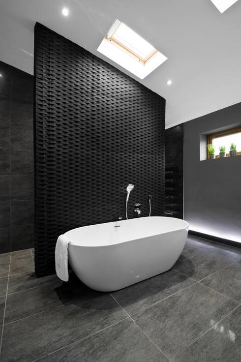 Rock Star Bathroom :  Bathroom by Lisa Melvin Design