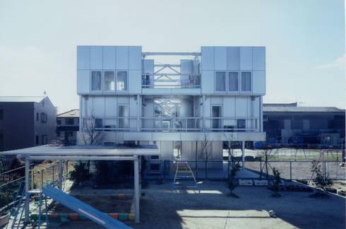 北側外観: 井戸健治建築研究所 / Ido, Kenji Architectural Studioが手掛けた家です。