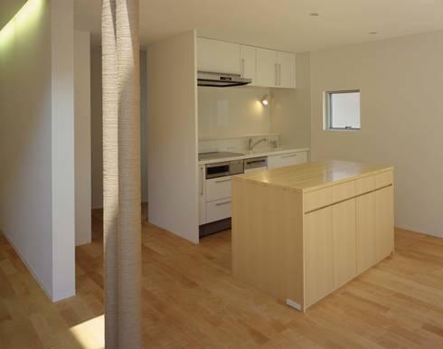 キッチン: (有)菰田建築設計事務所が手掛けたキッチンです。