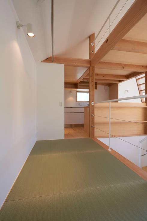 ごろりスペース(畳スペース): (有)菰田建築設計事務所が手掛けた和室です。