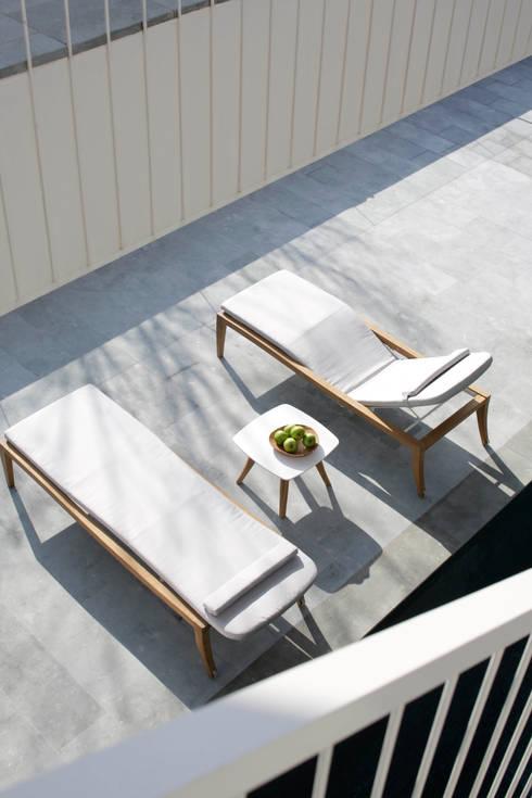 Balconies, verandas & terraces  by Royal Botania