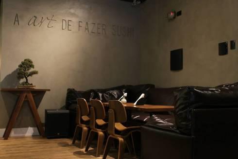LOUNGE: Espaços gastronômicos  por Gabriela Herde Arquitetura & Design
