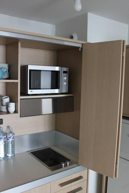 Monoblocco cucina da cm.170 con ante a libro - appartamento al ...