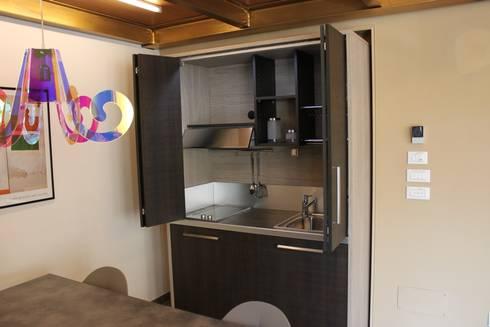 Cucine a scomparsa monoblocco da cm.140 con ante - ufficio by ...