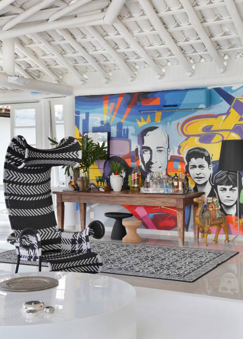 Terrazas de estilo  por Lovisaro Arquitetura e Design