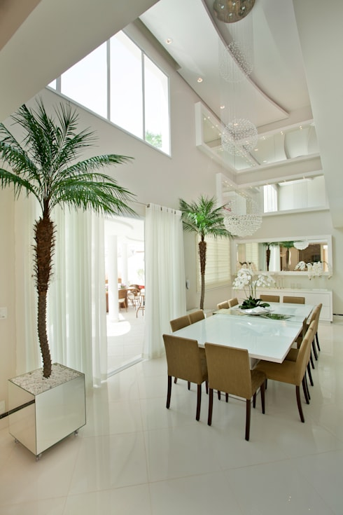 modern Dining room by Designer de Interiores e Paisagista Iara Kílaris