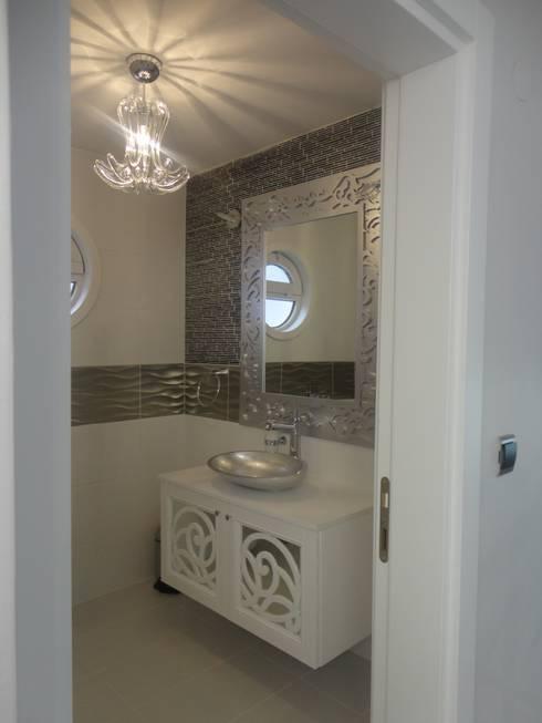 Vizyon mimarlık ve Dekorasyon – M.G Evi / Kırklareli: modern tarz Banyo