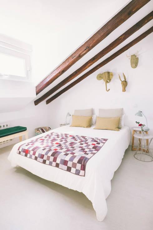 臥室 by nimú equipo de diseño