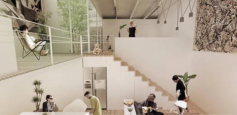 Interior: Comedores de estilo minimalista por Colectivo Ruta Alterna