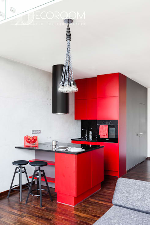 industrial Kitchen by Decoroom