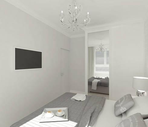 Dormitorios de estilo escandinavo por 4ma projekt