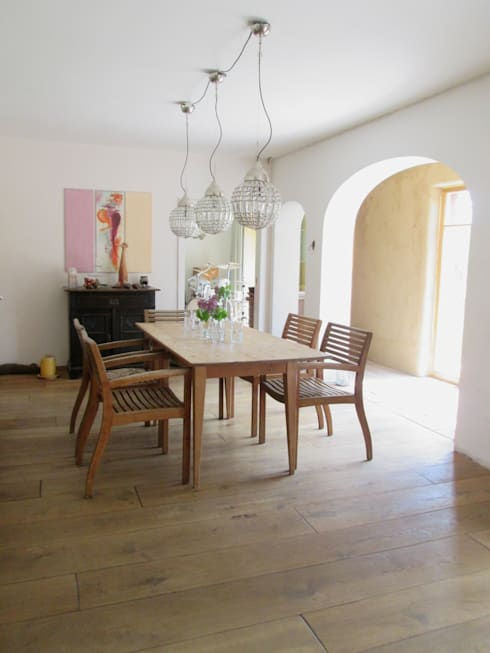 classic Dining room by bau-kult-ur