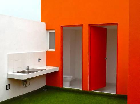 Roof Garden: Terrazas de estilo  por Grupo Siobles