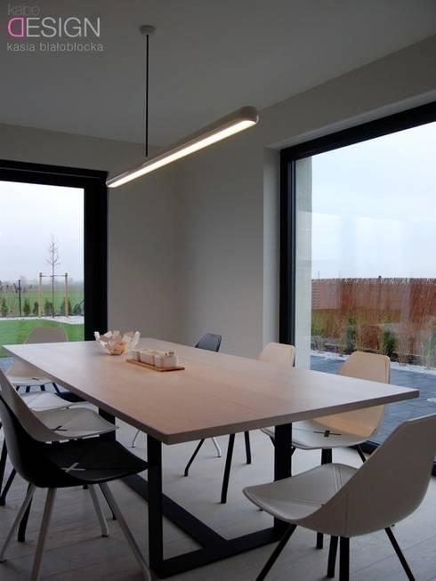Dining room by kabeDesign kasia białobłocka