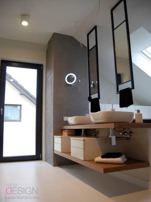 kabeDesign kasia białobłockaが手掛けた浴室