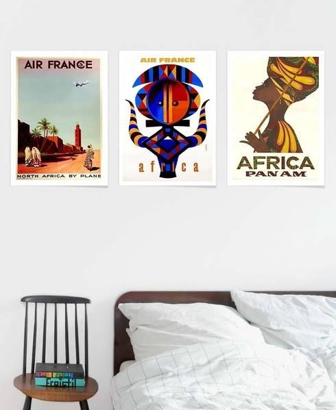 Africa Poster:  Schlafzimmer von JUNIQE