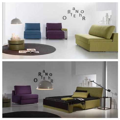 Sof s y sof s cama por sof s cama galea homify - Sofas cama galea ...
