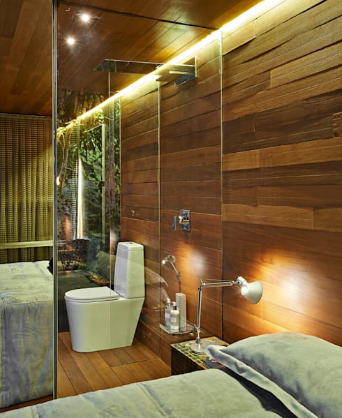 Habitaciones de estilo rústico por Cristina Menezes Arquitetura