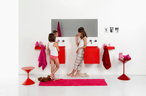 lavabos KUBO: Baños de estilo moderno de Boing Original