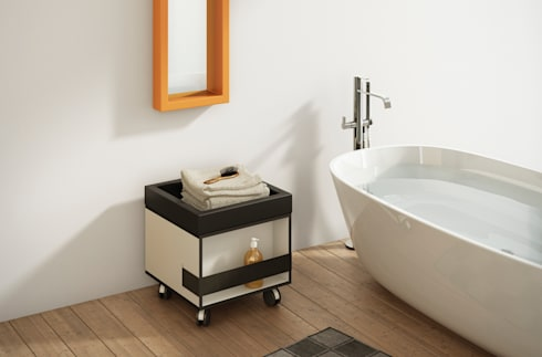 Carrito MON: Baños de estilo moderno de Boing Original