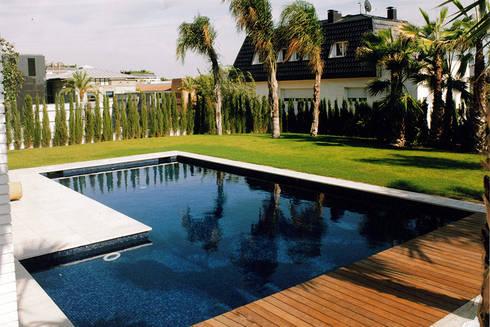 proyectos de piscinas de conillas exteriors homify