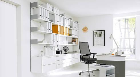 arbeitszimmer von regalraum gmbh homify. Black Bedroom Furniture Sets. Home Design Ideas