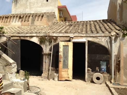 Casa campidanese rudere di concreta di alessandro rocca - Casa base immobiliare ...