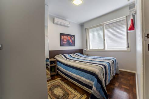Dormitório: Quartos  por Liana Salvadori Arquitetura e Interiores