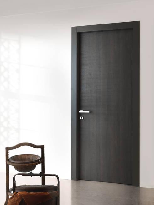 Le porte interne in laminato come quelle in legno