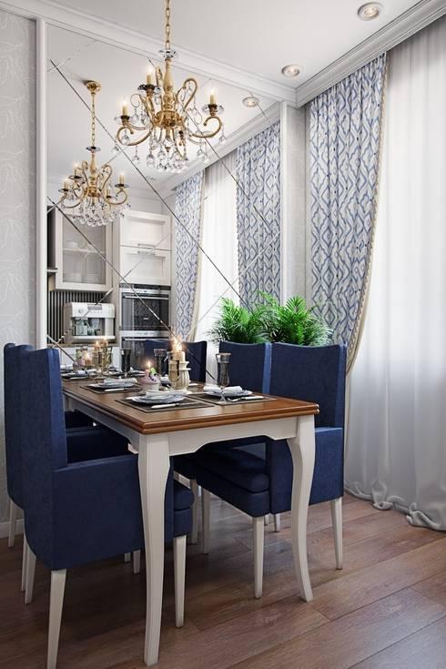 Квартира в стиле современная классика: Кухни в . Автор – Студия дизайна интерьера Маши Марченко