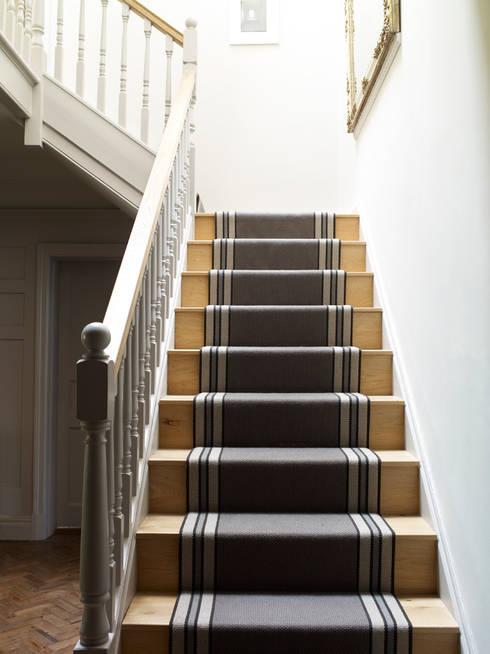 Stairs:  Corridor & hallway by Studio Duggan