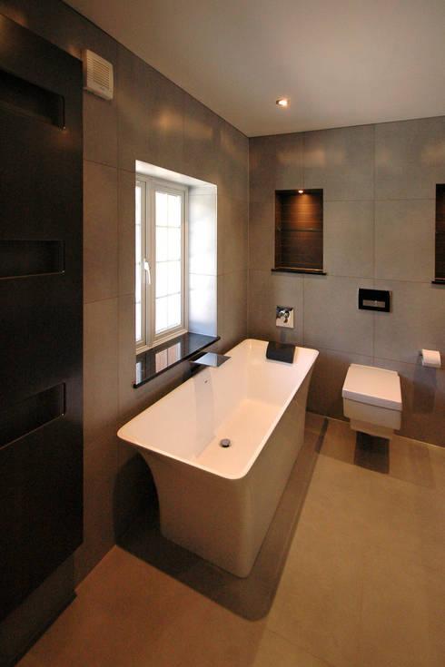 moderne Badkamer door David Carrier Bathrooms