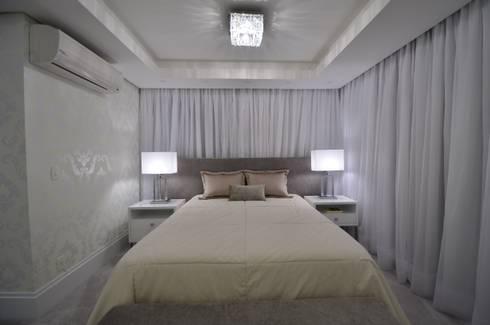 Apartamento Bela Vista: Quartos  por Francisco Humberto Franck