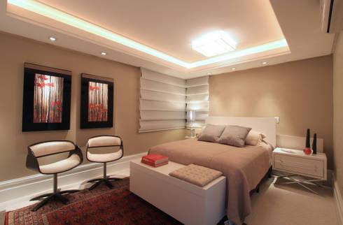 Apartamento Bela Vista 02: Quartos  por Francisco Humberto Franck