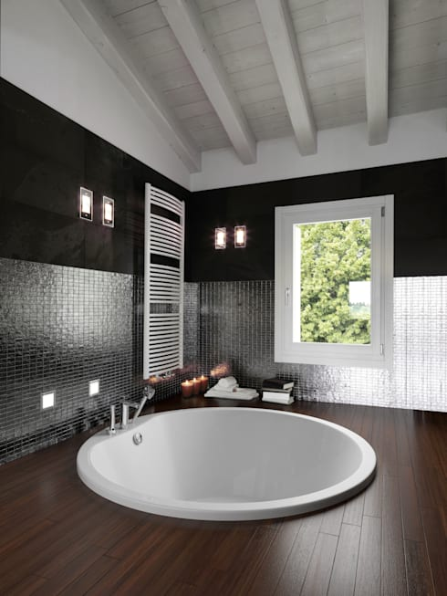 colonial Bathroom by GALATEA GmbH
