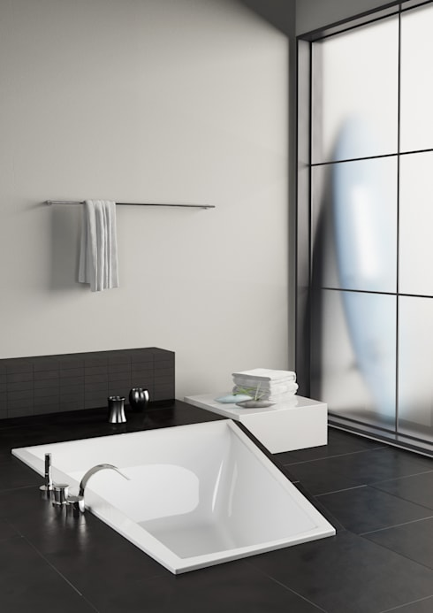 modern Bathroom by GALATEA GmbH
