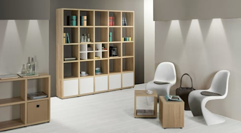 b cherregale von regalraum gmbh homify. Black Bedroom Furniture Sets. Home Design Ideas