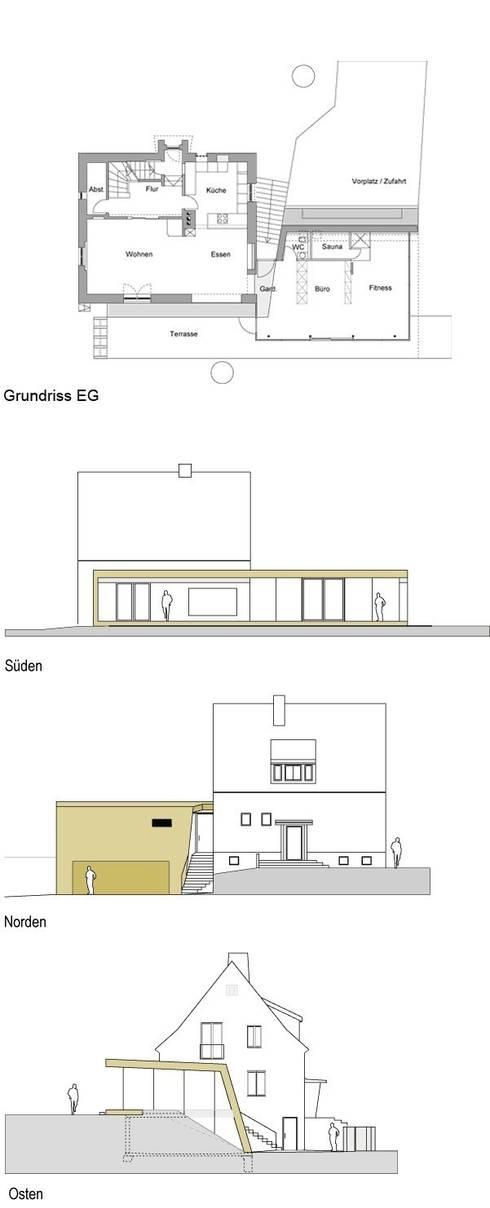Corten Falthaus:   von xarchitekten