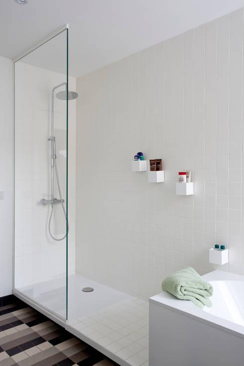detail badkamer:  Badkamer door studio k