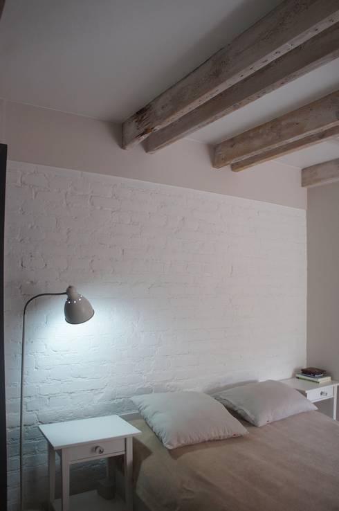 Anna Wrona: iskandinav tarz tarz Yatak Odası