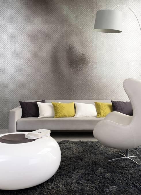 Projekty,  Ściany i podłogi zaprojektowane przez Élitis