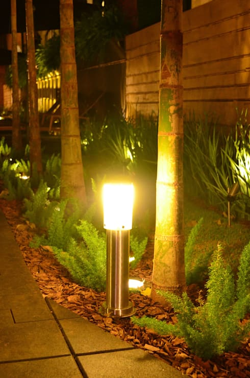 Campinas Decor: Jardins modernos por Lightinox