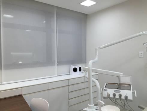 Consultório Odontológico: Clínicas  por Rafael Zalc Arquitetura e Interiores