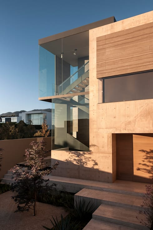 Corridor & hallway by Gantous Arquitectos