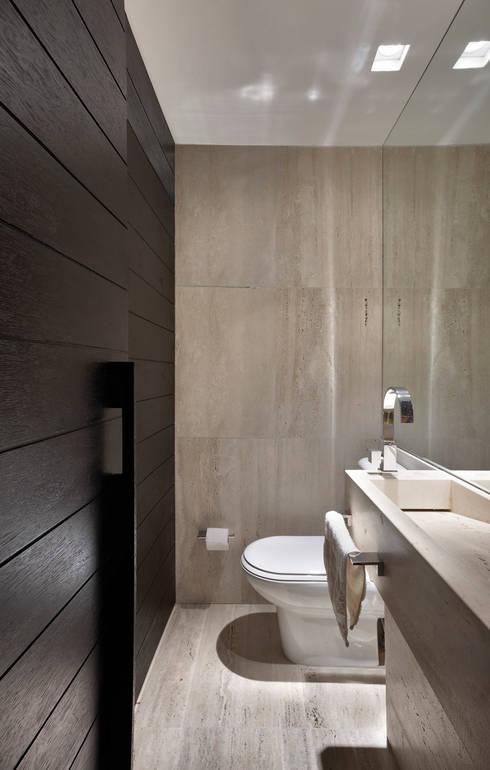 Lavabo: Banheiros modernos por Fernanda Sperb Arquitetura e interiores