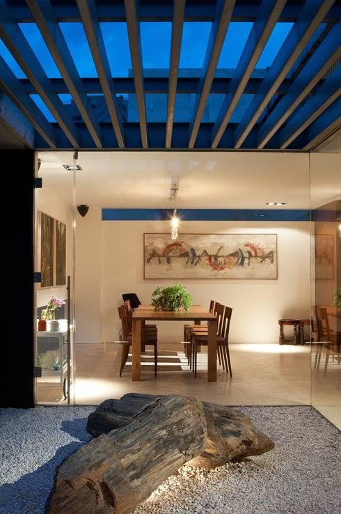 Penthouse Polanco: Terrazas de estilo  por Gantous Arquitectos