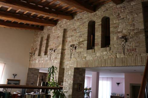 Villa in Campagna ad Assisi di Studio di Bioarchitettura Brozzetti Adriano  homify