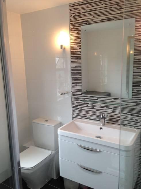 Loft Conversion :  Bathroom by Progressive Design London